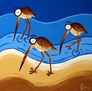Bird Watching by Beachbones
